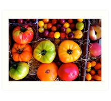 Season Harvest Art Print