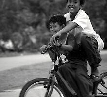 Village Kids by Vincent Teh