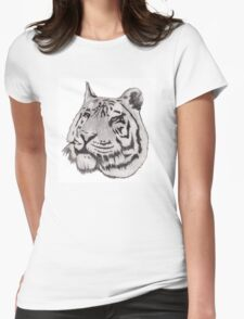 Brutal Tiger Womens Fitted T-Shirt