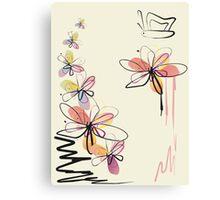 Floral Delight Canvas Print