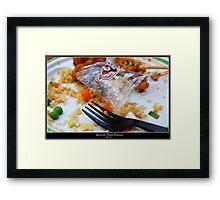 Gourmet panda express Framed Print