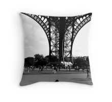 Enfant Eiffel Throw Pillow
