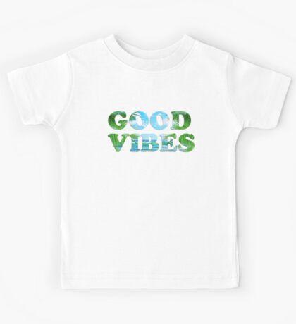 good vibes  Kids Tee
