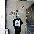 Jef Aerosol - Street Art, Paris by Caprice Sobels