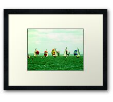 GLORIOUS WINDS Framed Print