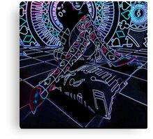 NEON PLAYFUL Canvas Print