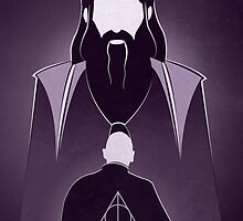 Dumbledore&Voldemort Tribute.  by lady2