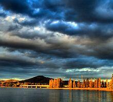 Sunsets on Canberra by Bernadette Maurer