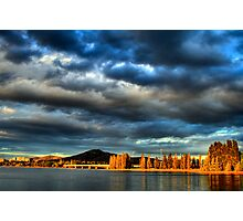 Sunsets on Canberra Photographic Print