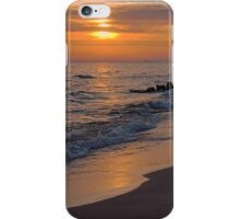 Twilight on Lake Michigan iPhone Case/Skin