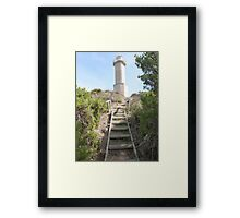 End of Track to Lighthouse, 'Beachport' Limestone Coast, S.A. Framed Print