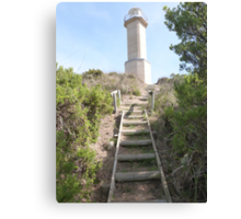End of Track to Lighthouse, 'Beachport' Limestone Coast, S.A. Canvas Print