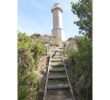 End of Track to Lighthouse, 'Beachport' Limestone Coast, S.A. Photographic Print