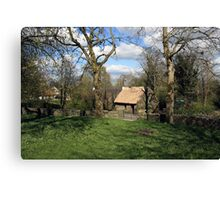 Bunratty cottage Canvas Print