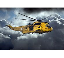 Sea King Saviour  Photographic Print