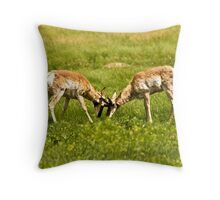 ~ Bet You a Buck I Win ~ Throw Pillow