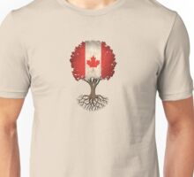 Tree of Life with Canadian Flag Unisex T-Shirt
