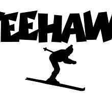 Yeehaw! Apres Ski Design by theshirtshops