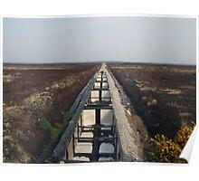Peat train Poster
