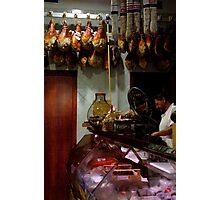 Meat Shop Photographic Print