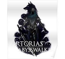 Artorias The Abysswalker Poster