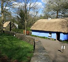 Bunratty thatched cottage by John Quinn