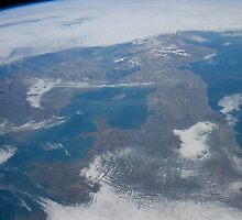 The United Kingdom From Space - UK / Photo from the International Space Station by verypeculiar