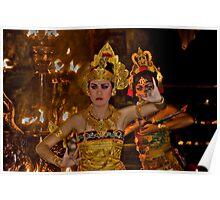 Balinese Dancers - Bali, Indonesia Poster