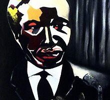 Nelson Rolihlahla MANDELA by ValerieSherwood