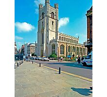 Great St. Mary's, Cambridge Photographic Print