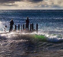 Dedicated Fishermen by Peter Evans