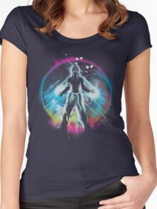 balancing universe Women's Fitted Scoop T-Shirt