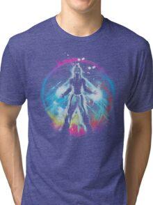 balancing universe Tri-blend T-Shirt