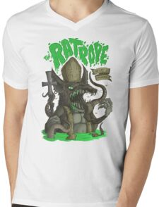 Sewer Lords: The RatPope Mens V-Neck T-Shirt