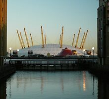 O2 Dome Dusk by DavidFrench
