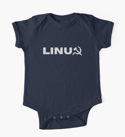 Communist Linux Tee One Piece - Short Sleeve