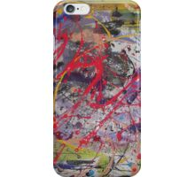 abstract, vibrant colors iPhone Case/Skin