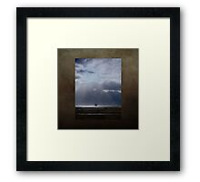 Long voyage home Framed Print