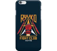 Ryuko Fight Club iPhone Case/Skin