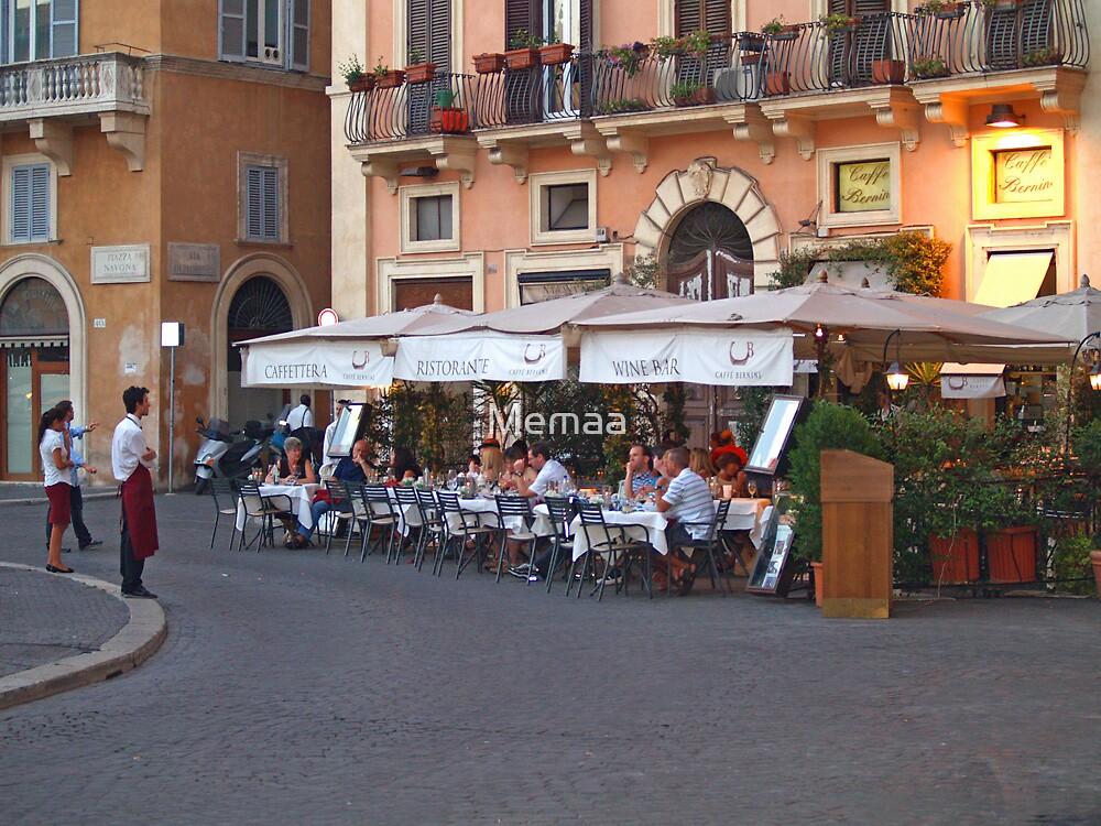 Ristorante in the Plaza Navona by Memaa