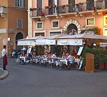 Ristorante in the Plaza Navona by Memaa