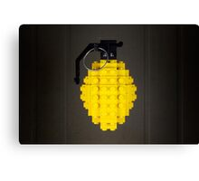 Cave's Lemon Grenade Canvas Print