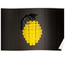 Cave's Lemon Grenade Poster