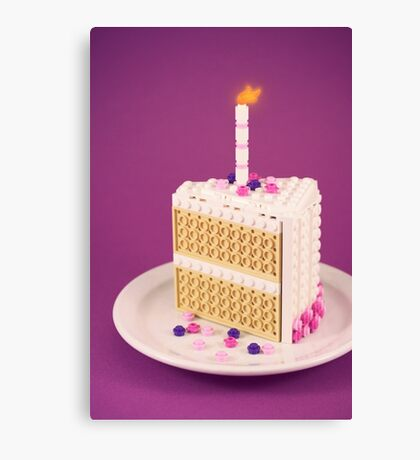 It's My Birthday Canvas Print