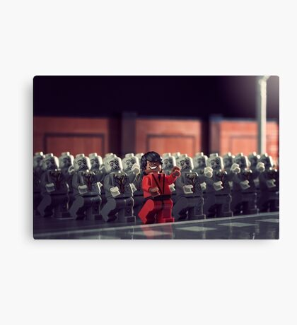 This is Thriller Canvas Print