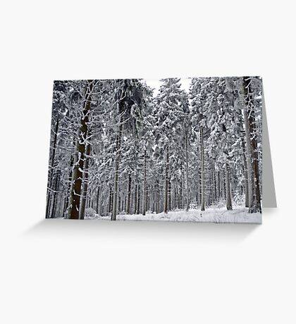 Frozen giants Greeting Card