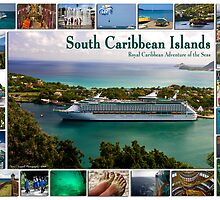 Royal Caribbean Southern Islands Poster by David Chappell