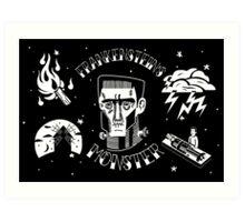 Frankenstein's Monster! Art Print