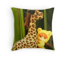 Goldie Belle's Friend (1) Throw Pillow