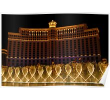 Fountains Of Bellagio Poster
